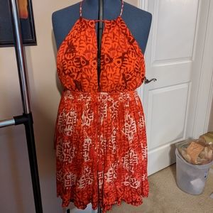Free people dress or beach coverup szl
